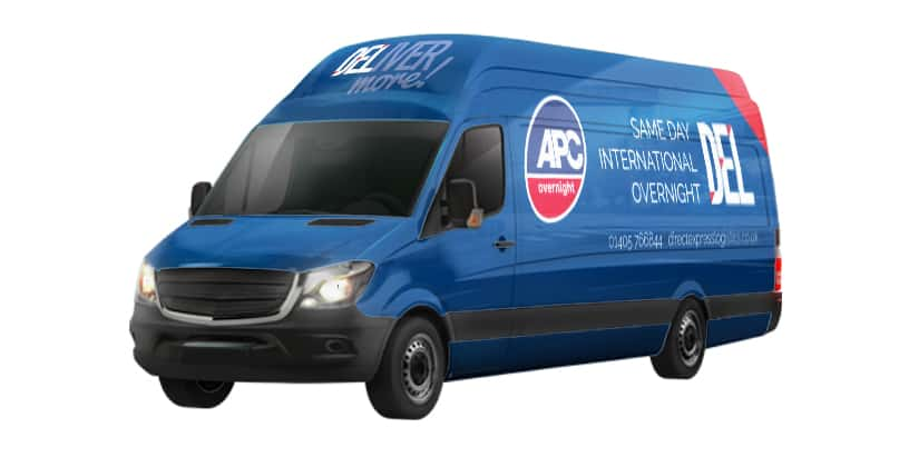 direct express logistics van liveries