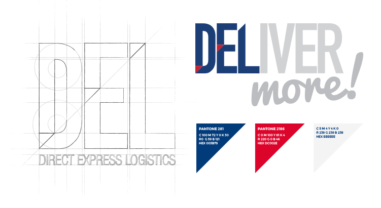 Direct Express Logisitcs Branding